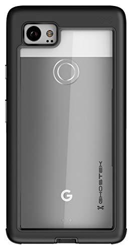 ghostek Atomic Slim Heavy Duty Aluminium Case kompatibel mit Google Pixel 2XL, schwarz