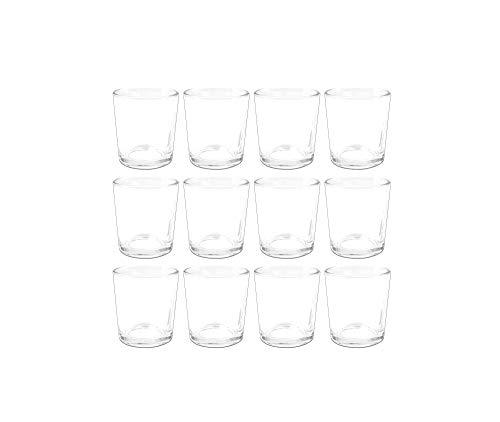 Sandra Rich -   Teelichtglas 12er