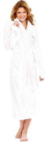 Peignoir confort blanc taille L