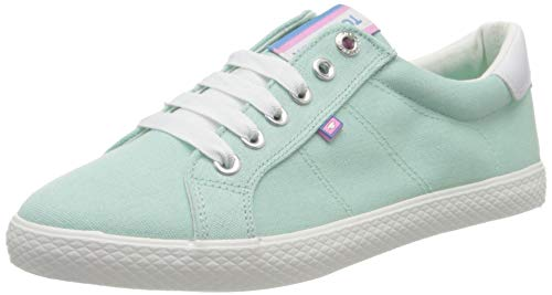 TOM TAILOR Damen 8091002 Sneaker, Grün (Mint 00259), 41 EU