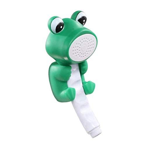 Alcachofa De La Ducha, Juguete De Baño ABS Material Niños Juego De Agua Juguete De Baño Juguetes De Agua Baño Agua Spray/Jugar Juguete De Agua(Verde) (Color : Verde)