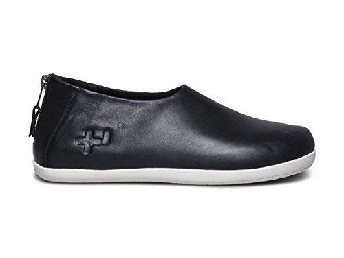 Otz Shoes Damen Namaste Zip LTHR, Schwarz/Pristine, 37