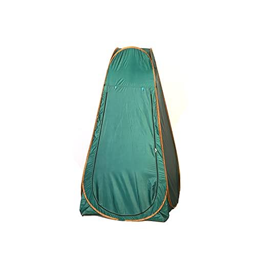 LVLUOKJ Carpa de Ducha al Aire Libre, Tienda móvil portátil del retrete, Tienda de Cambio de privacidad con Estuche de Transporte (Color : Green, Size : 120 * 120 * 190cm)