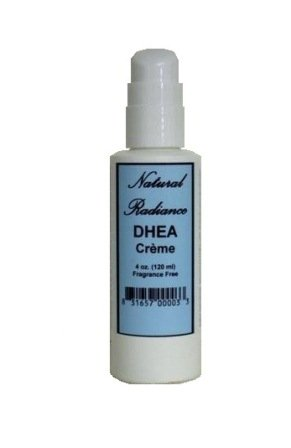 Natural Radiance DHEA Unscented & Paraben-Free - Topical Creme 4 oz. Pump Bottle. DHEA is a Precursor, or Source Ingredient, to virtually Every Hormone Your Body Needs.