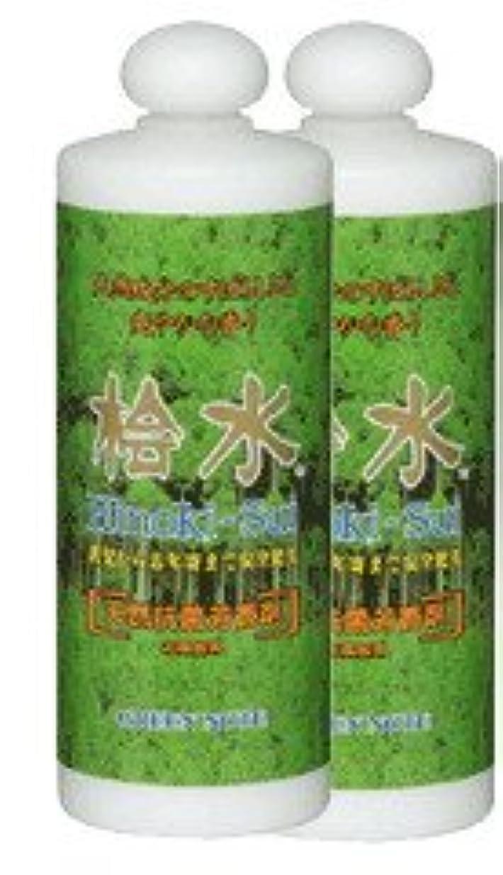 フルーツカロリーレンディション天然桧の精油の入浴剤【桧水500ml×2本組】