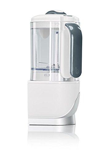 Babymoov - Nutribaby(+), Robot Multifonctions 5 en 1, Cuiseur-vapeur, Mixeur, Grande Capacité pour Bébé, Idéal Batchcooking, Blanc