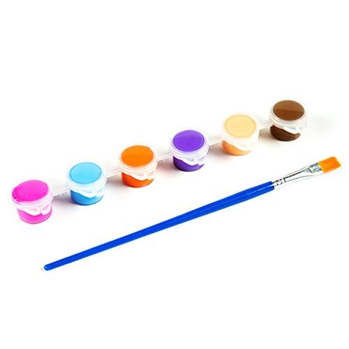 JumpXL 1 Set 3ml / 5ml Handbemalte Acrylfarbe Kinder Sicheres Malen Von Pigmenten DIY Art Graffiti Pigment Set Für Kleinkinder Kinder Anfänger Schulmaterial