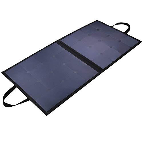 AUKEY 100W Cargador Solar con los Paneles Solares de SunPower para la Batería del Coche 12V
