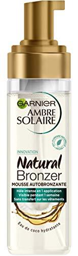 Garnier Ambre Solaire - Natural Bronzer - Mousse Bronzante - Corps et Visage - 200 mL