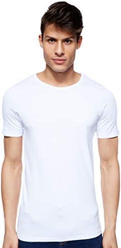 JACK & JONES Camiseta para Hombre Cuello Redondo