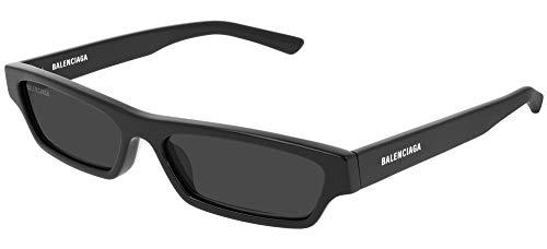 Balenciaga sonnenbrille BB0075S 001 Schwarz grau größe 55 mm Unisex
