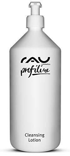 RAU Cleansing Lotion Profiline (1 litre) - Lotion nettoyante douce et apaisante pour le nettoyage quotidien du visage - démaquillage des yeux et élimination des particules de saleté