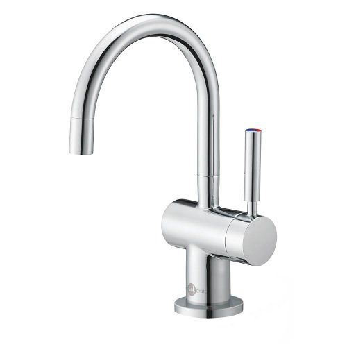 InSinkErator Modern Instant Hot and Cold Water Dispenser Faucet, Chrome, F-HC3300C