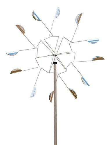 ERRO Winddancer Windwheel OW2655 - Windspiel, Windchime, Windtänzer als Gartendekoration, Geburtstagsgeschenk und ausgefallenes Geschenk als Mitbringsel, Tolle Qualität für Gartenfreunde, Windläufer