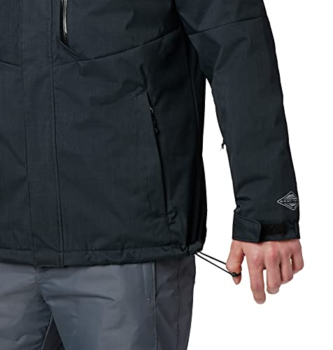 Columbia Men's Alpine Action Jacket, Black, Large