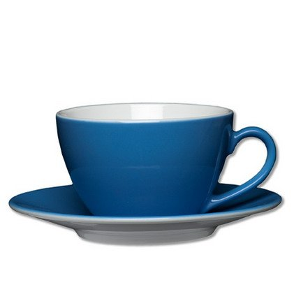 1x Milchkaffee-Tasse Inhalt 0,32 ltr - Geschirrset, Tafelservie