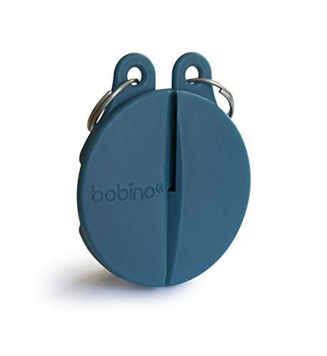 Bobino Zipper Clip Lucchetto per valigie, 4 cm, 1 liters, Blu (Petrol)
