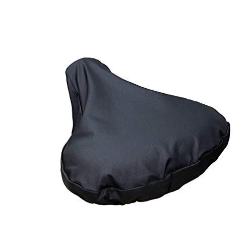 TIREOW wasserdichte Fahrradsitz Regenhülle mit Kordelzugschutz, Fahrradsattel Staubschutz Sonnenschutzhülle Geeignet für die meisten Fahrradsättel, 24x27cm