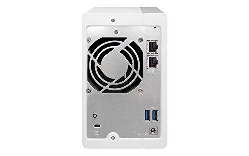 QNAP TS-231P Desktop NAS Gehäuse mit 1 GB DDR3 RAM, Powerful 2-Bay Storage Server