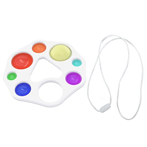 NEWMAN771Her Fidget Toys - Juguete sensorial para bebé, juguete educativo precoz para bebés, ejercicio de dedo, consejo, regalo para niños, juguete sensorial educativo precoz