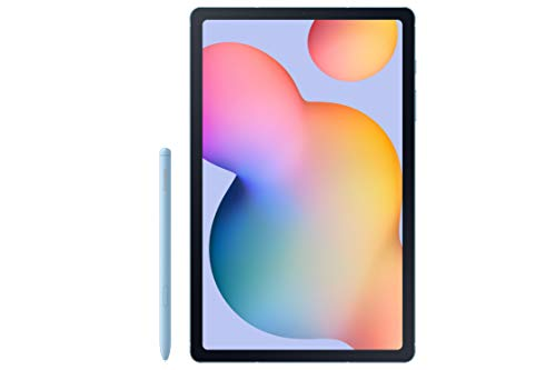 Samsung Galaxy Tab S6 Lite 10.4u0022, 64GB WiFi Tablet Angora Blue - SM-P610NZBAXAR - S Pen Included