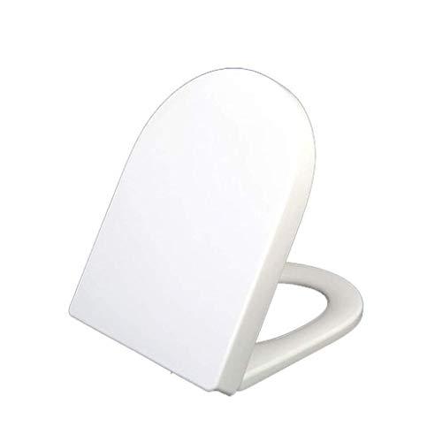 KAISIMYS U-Form Weiß Toilettensitz Soft Close Schnellverschluss Toilettendeckel Fast Fix Deckel Klo-Abdeckung für Badezimmer