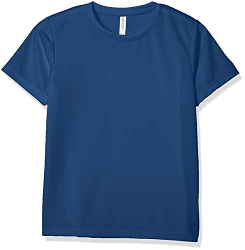 Glimmer 00300-ACT Short Sleeve 4.4 oz Dry T-Shirt (Crew Neck) - indigo