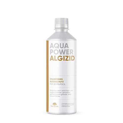 Aqua Power ALGIZID für Whirlpool | chlorfreies Algizid für Whirlpool | Algenverhütung ohne Chlor | Wasserpflege für Whirlpool | flüssig und hoch konzentriert