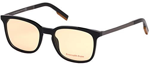 Gafas de Vista Ermenegildo Zegna EZ5143 Black/Yellow 53/19/145 unisex