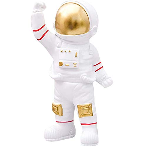 Pillowcase Astronaut Figur Statuen Skulptur Modell Weihnachten Halloween Geburtstag Raum Thema Party Geschenke Tischdekoration Ornament,Weiszlig;