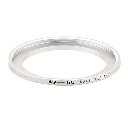 Adorama Step-Up Adapter Ring 49mm Lens to 58mm Filter Size