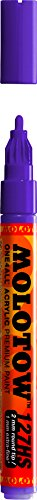 Molotow ONE4ALL Acrylic Paint Marker, 2mm, Currant, 1 Each (127.207)