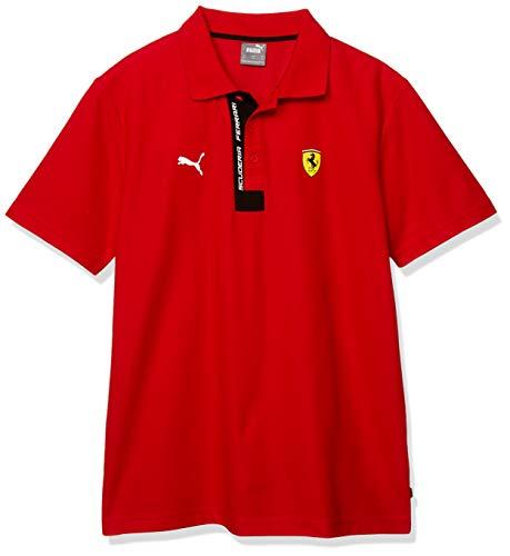 PUMA SF Polo, Uomo, Polo, 596150, Rosso Corsa, XL