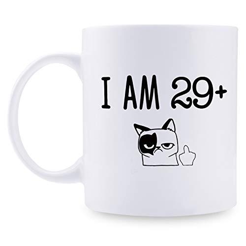 Regalos de 30 cumpleaños para mujeres, regalo de cumpleaños de 1989 para mujeres, 30 años de edad, regalos de cumpleaños para mamá, esposa, amiga, hermana, ella, colega, compañero de trabajo – 11 oz