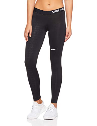 Nike Damen Hose Just Do It, Black/White, L, AR0783-010
