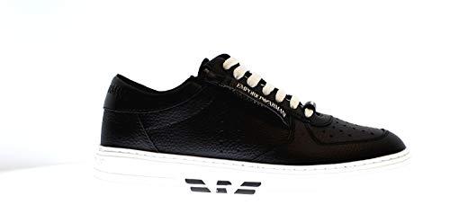 Emporio Armani X4X285 Herren Sneakers aus Leder