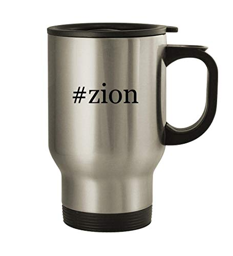 Try Harder zion - 14oz Stainless Steel Travel Mug, Silver