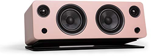 Kanto SYD Powered Speaker with Bluetooth and Phono Preamp (Matte Pink)
