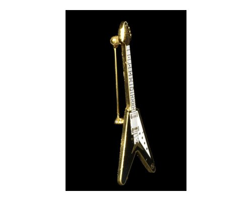 Gibson Flying V Guitarra Eléctrica-Gorro para bañados en oro de 24K/Pin De...