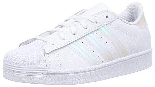 adidas Superstar C, Scarpe da Ginnastica, Ftwr White/Ftwr White/Core Black, 31 EU
