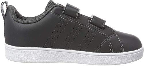 adidas Vs ADV Cl Cmf Inf, Scarpe da Fitness Unisex-Bambini, Multicolore (Grisei/Ftwbla/Aeroaz 000), 23 EU