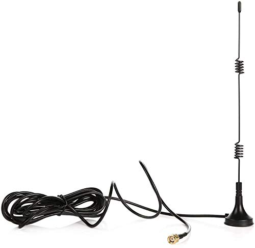 Tonton 10FT/3M 7dBi WiFi Externe Antenne mit 3m Verlängerungskabel für Überwachungskameras und NVR Verlängerungskabel Antennen mit Magnet Standfuß Signal Boosterfür Funkkamera/IP Kamera/NVR Recorder