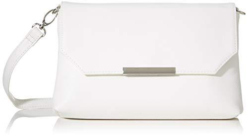 TOM TAILOR Denim Damen Kenza Umhängetasche, Weiß (Weiß), 24x14x4.5 cm