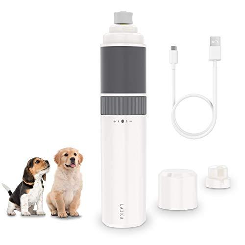 Laika - Lima de uñas eléctrica para perro, corte de uñas de...