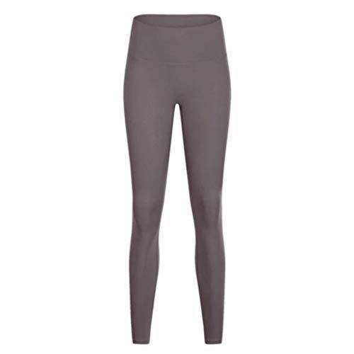 Pantalons YQ Yoga Fitness Femme Transparente Taille Haute Hip Stretch en Cours Leggings Fitness Sports Mince Haute Stretch (Color : Sea Moon Rock, Size : M)
