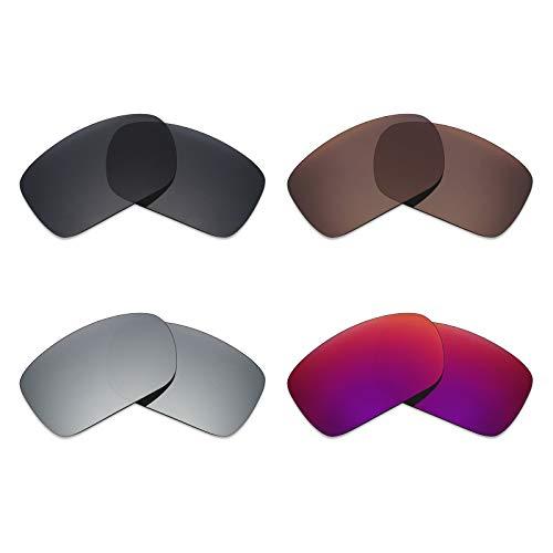 Mryok - Lentes polarizadas de repuesto para gafas de sol Oak