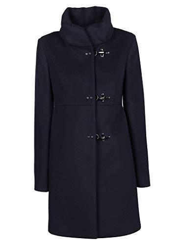 Fay Luxury Fashion Damen NAW5041Y050SHNU808 Blau Andere Materialien Mantel | Ss21