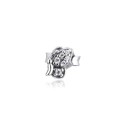 Pandora 925 Sterling Silver DIY Jewelry CharmEarrings mi único pendiente de mariposa para mujer joyería aretes pendentes kolczyki earring earring