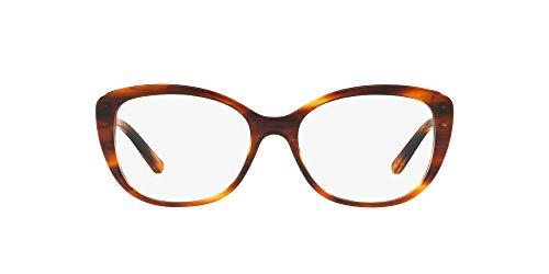 Ralph Lauren Rl6174 - anteojos de sol para mujer, Lente rayada Havana/Demo, 54 mm