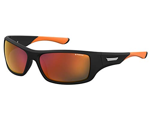 Polaroid SPORT PLD 7013/S gafas de sol, BKORNFLRU, 63 para Hombre